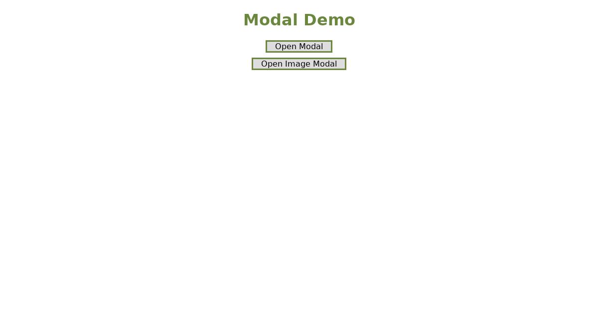 React Hooks Modal
