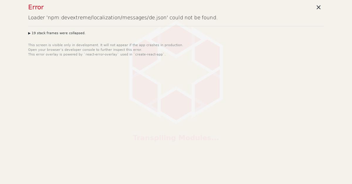 Using Intl - DevExtreme Vue Localization - CodeSandbox