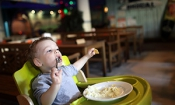 Lack of high chairs in British restaurants