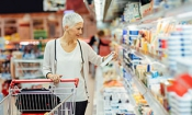 Which supermarket was cheapest during December 2016?
