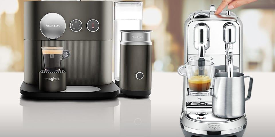 Nespresso unveils new capsule coffee machines