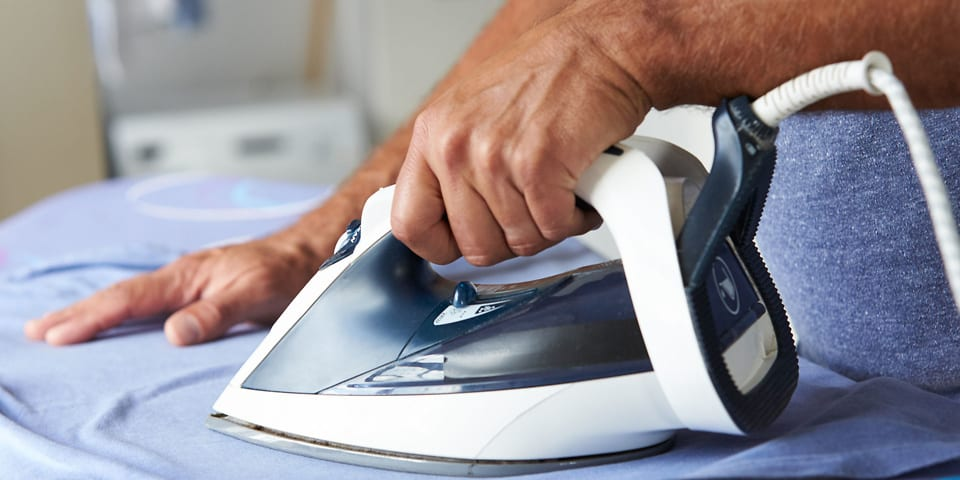 Which? reveals best steam iron for busting creases