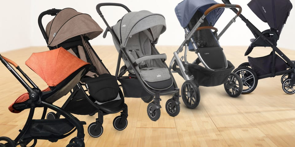 Five pushchairs to look out for in 2017