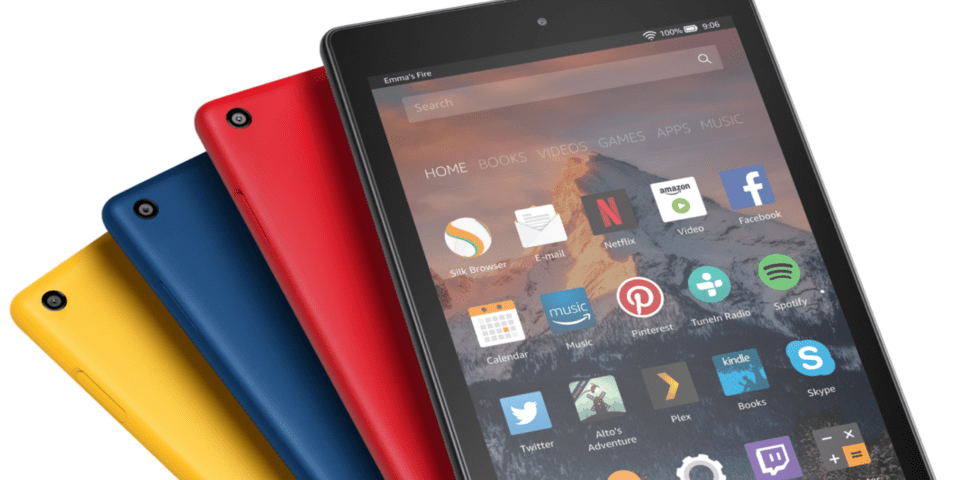 New Amazon Fire tablets with Alexa unveiled