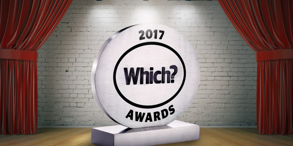 Which? Awards 2017 winners revealed
