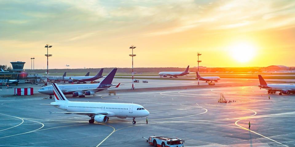 A quarter of all flights delayed