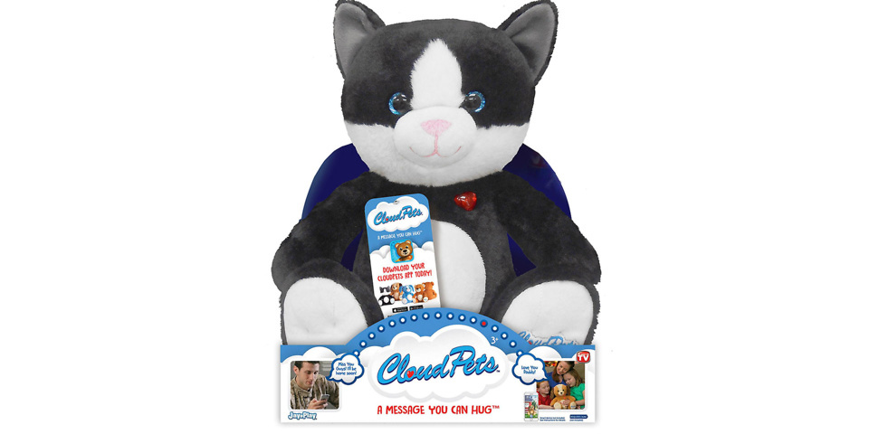 Watch as the voice of this child's toy cat is taken over by hackers