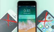 iOS 11 waves goodbye to iPhone 5 and 5c
