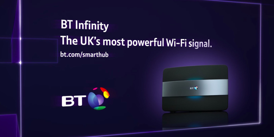 BT's 'most powerful wi-fi signal' ads banned by the ASA