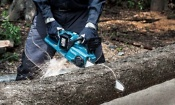 Which? tries out new Makita cordless chainsaw
