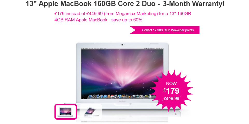 Why you shouldn't buy Wowcher's £179 MacBook