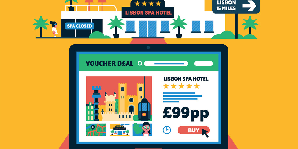 Holiday vouchers are too good to be true