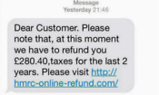 'HMRC' scam texts blocked after fraud crackdown