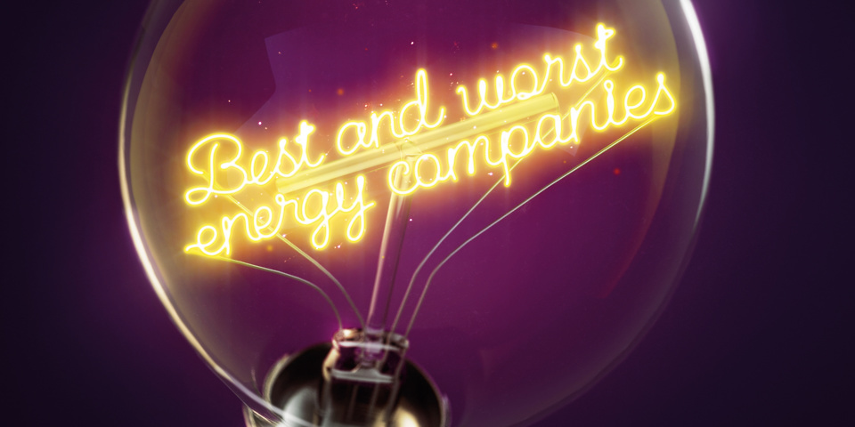Best and worst energy companies 2018 revealed