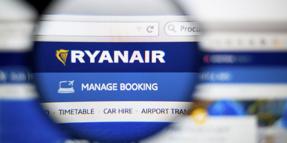Ryanair currency rip-off