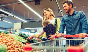Which supermarket was cheapest in May 2019?