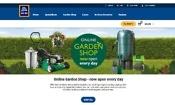 Aldi opens an online garden shop