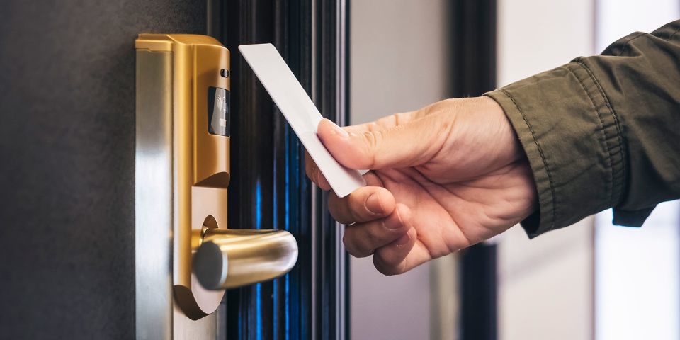 Hacked master key could be used to open hotel room doors