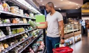 Which supermarket was cheapest in February 2019?