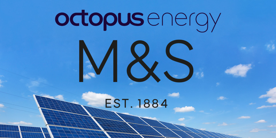 Octopus Energy and M&S Energy announce partnership