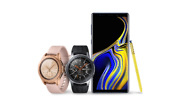 Samsung Galaxy Note 9 smartphone and Samsung Watch revealed