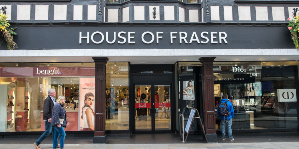 Update: House of Fraser delivery problems – your consumer rights
