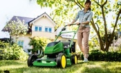Are cordless lawn mowers as good as petrol mowers for larger gardens?