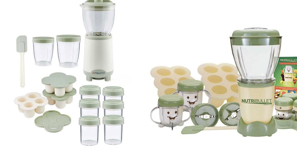 Aldi Ambiano Baby Food Nutrient Blender vs Nutribullet Baby Food Processor