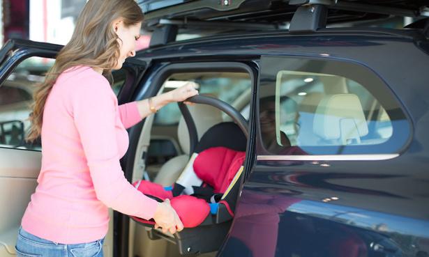 Fitting car seat
