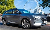 Hydrogen fuel-cell car put through crash safety tests for first time