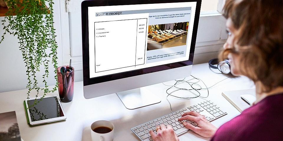 Can you avoid marketing when you get an e-receipt?