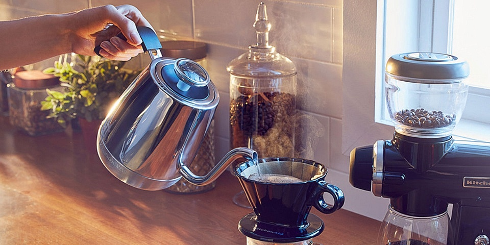 Can this pricey KitchenAid kettle achieve the perfect pour?