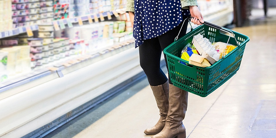 Which supermarket was the cheapest in 2018?
