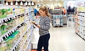 Which supermarket was cheapest in January 2019?