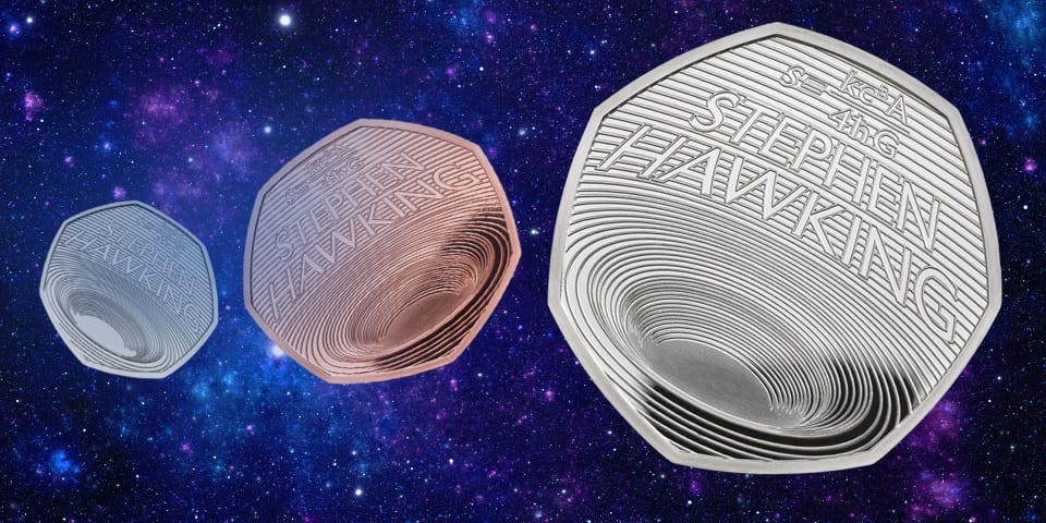 How rare is the new Stephen Hawking 50p, and how can you get one?