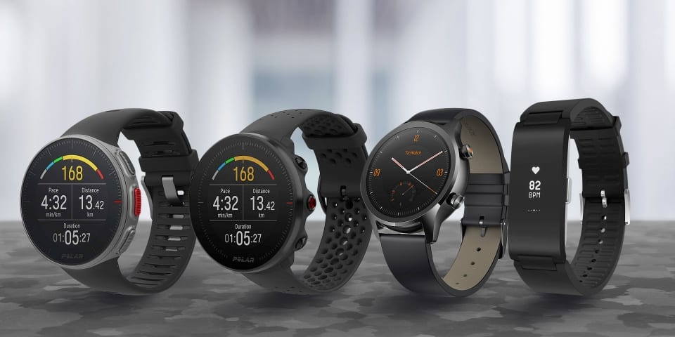 On test: smartwatches and fitness trackers from Mobvoi, Polar and Withings