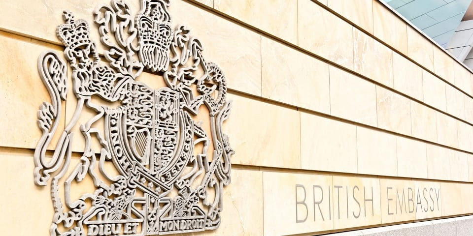 Survey reveals holidaymaker confusion over role of British embassies