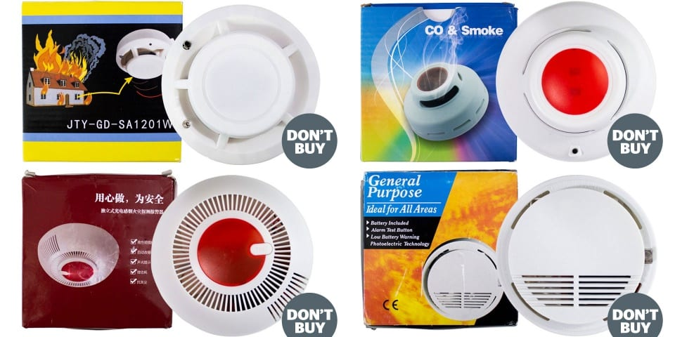 Revealed: the terrifying smoke alarms that will fail when you need them