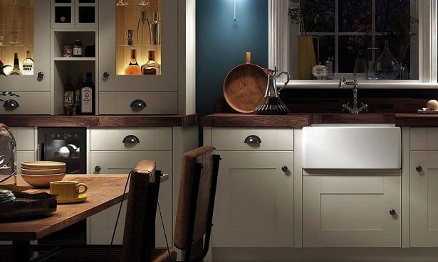 Wickes Showroom kitchen