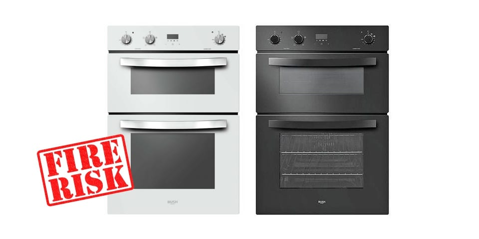 Argos issues Bush double oven safety warning