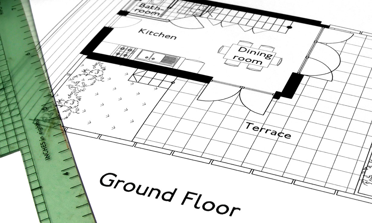 Plans for a home extension