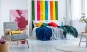 Nine bedroom update ideas for rented homes
