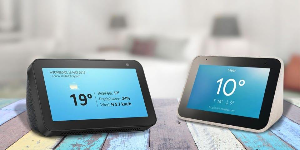 Amazon Echo Show 5 vs Lenovo Smart Clock: which smart display should you buy?