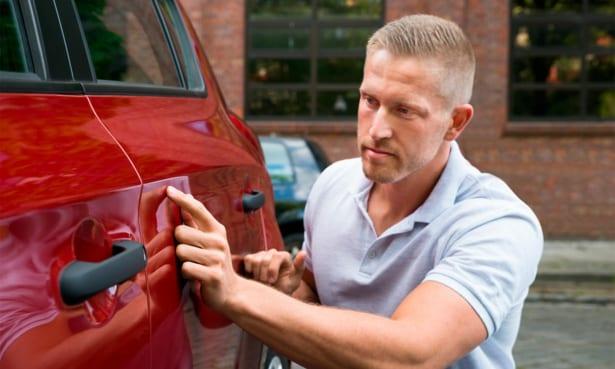 car hire damage scam