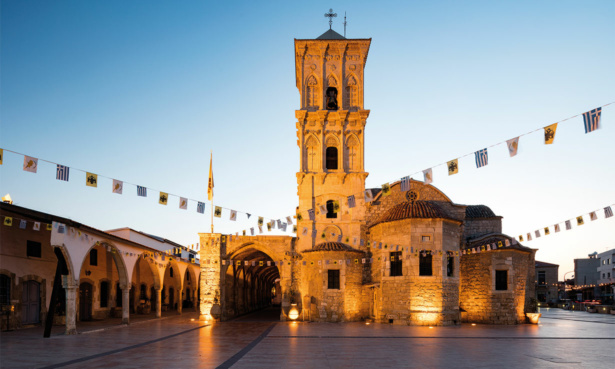 saint lazarus church in larnaca cyprus