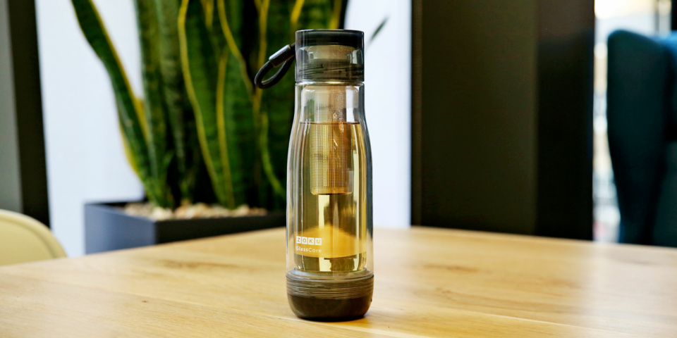 Zoku Glasscore tea infuser: is this the ultimate travel mug for tea fans?