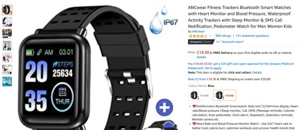 Amazon ANCWear Smartwatch