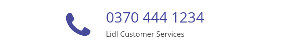 Lidl Customer Services phone number