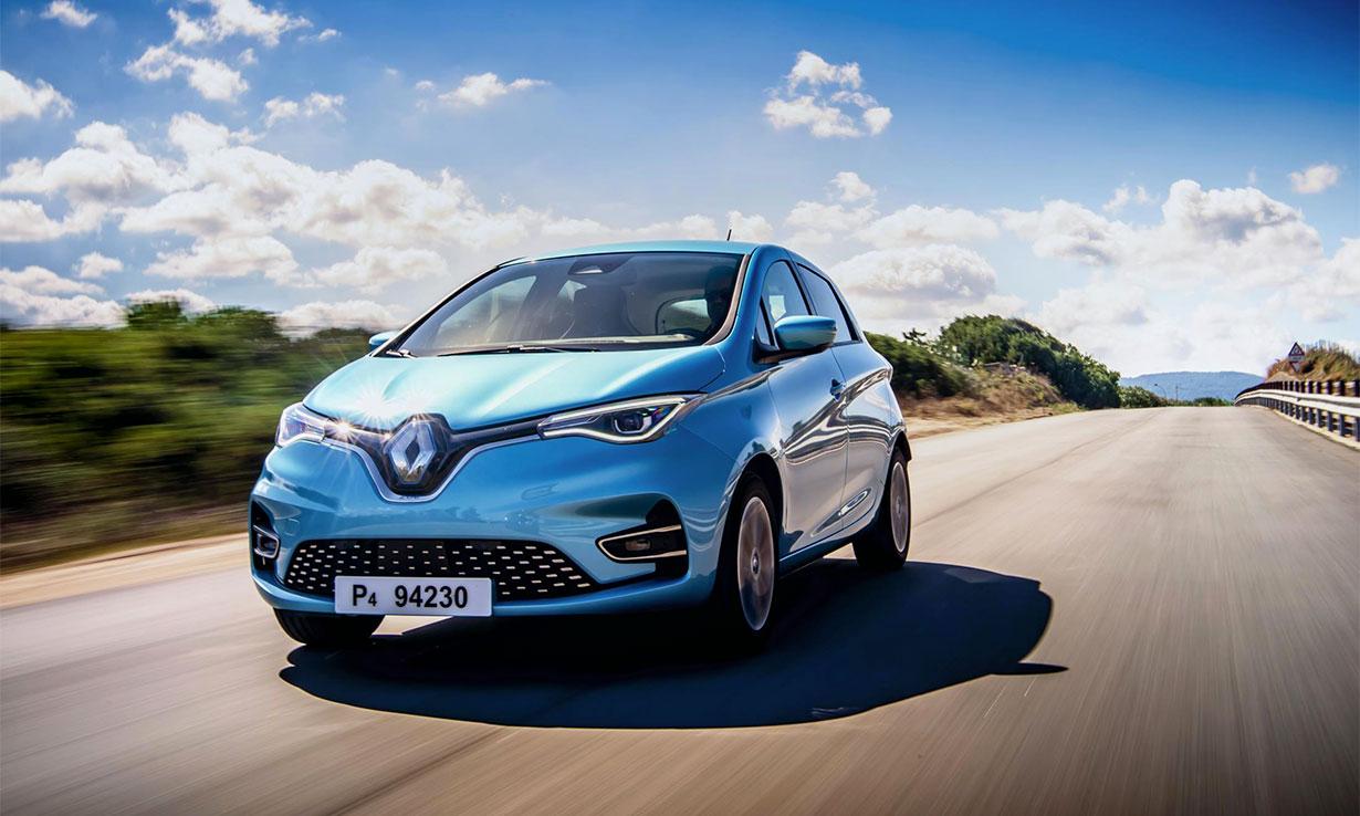 Renault Zoe 2013-present electric car