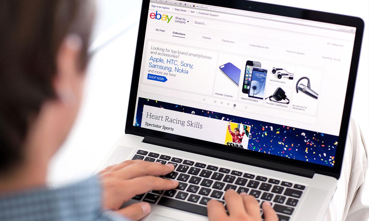 Selling technology using eBay